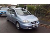 2006 chevrolet tacuma 1.6 petrol low mileage
