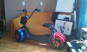 Harley Fat Tire E-Scooter coolest ebike ever!! Best Xmas Gift!