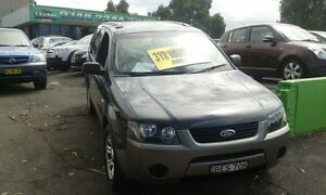 2007 Ford Territory SY TX Charcoal 4 Speed Automatic Wagon Lidcombe Auburn Area Preview