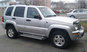 2002 Jeep Liberty Limited Edition Échange/Trade