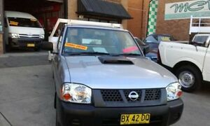 2008 Nissan Navara D22 MY 2008 Silver Manual Utility Rossmore Liverpool Area Preview