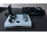 Sky + (plus) HD box and Sky box and Sky rooter