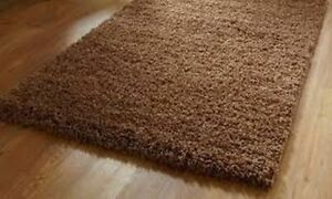 80X150 CM Brown Area Rug