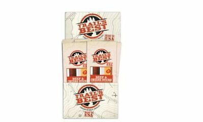 Trail's Best Beef and Cheese Beef Jerky. Box of 20 individually