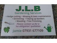 Small gardening company.
