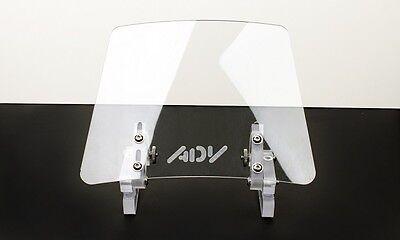 Wind screen deflector clear windshield windscreen ENDURO motorcycle motorbike