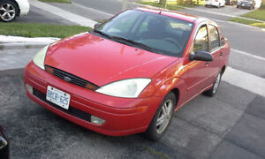 2000 Ford Focus. $1,100 obo.