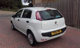 fiat punto 1.4 evo only done 50k 2010 finance available