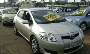 2009 Toyota Corolla ZRE152R MY10 Ascent Silver 6 Speed Manual Hatchback Lidcombe Auburn Area Preview