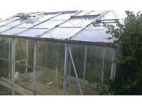 Greenhouse frame 12' x 8' Dismantled