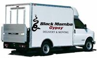 Black Mamba Gypsy Delivery & Moving (Quesnel) NOW BOOKING!