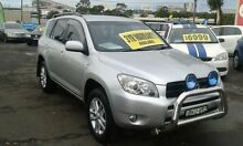 2007 Toyota RAV4 ACA33R MY08 CV Silver 4 Speed Automatic Wagon Lidcombe Auburn Area Preview