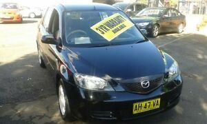 2003 Mazda 2 DY10Y1 Neo Black 5 Speed Manual Hatchback Lidcombe Auburn Area Preview