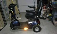 WANTED: AN ELECTRIC MOBILITY SCOOTER