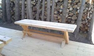 Ice Rink benches/outdoor benches