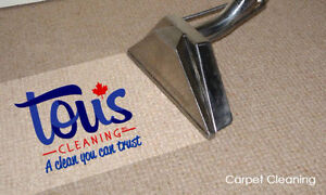 CARPET AND UPHOLSTERY CLEANING | Tous Cleaning Inc. Edmonton Edmonton Area image 9
