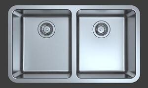 """Small Radius Corner Sink - Stainless Steel - Undermount 30"""""""