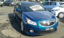 2012 Holden Cruze JH Series II MY12 SRi-V Blue Auto Sports Mode Sedan Lidcombe Auburn Area Preview