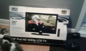Brand new 26 inch LCD 1080 Fluid TV