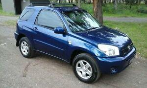 2003 Toyota RAV4 CV Blue Manual Oak Flats Shellharbour Area Preview