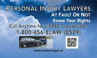 FREE PERSONAL INJURY HOTLINE!!!