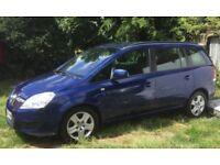 Automatic Vauxhall zafira 1.9cdti 7 seater
