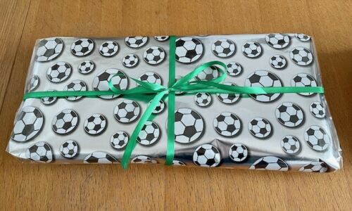 Football Pass The Parcel Party Game - 10 Layers - Prize In Every Layer!