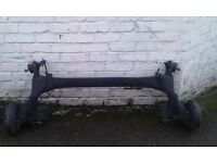 Seat Ibiza 6j 2010 full suspension front and rear axle complete 2008-2013 models