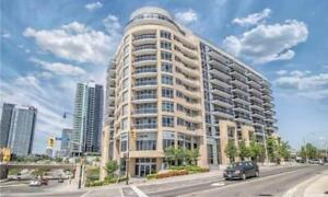 Fully Furnished Corner suite 2bdr 2bath Sheppard & Leslie subway