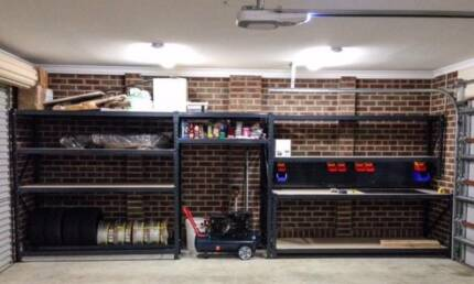 4 Tier work bench long span shelving Dandenong Greater Dandenong Preview