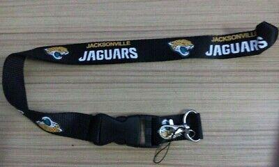 Jacksonville Jaguars Football Team NFL Lanyard Keychain Jacksonville Jaguars Keychain