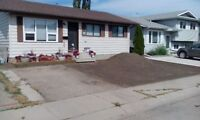 Yard Design and Updates Sod, Sprinklers, Rockwork.