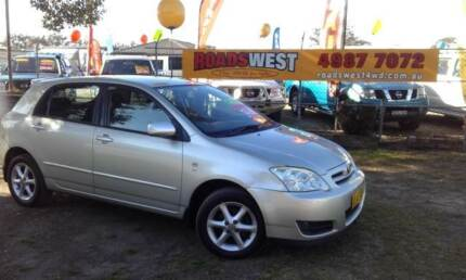 2005 Toyota Corolla Wagon Heatherbrae Port Stephens Area Preview