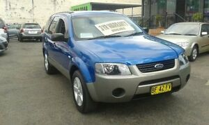 2007 Ford Territory SY TX Blue 4 Speed Automatic Wagon Lidcombe Auburn Area Preview