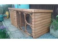Dog kennel and runs for sale