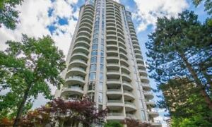 Semi-Furnished 2 Bedroom in Metrotown - steps away from skytrain