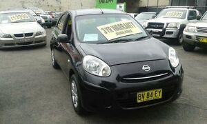 2012 Nissan Micra K13 ST Burgundy 4 Speed Automatic Hatchback Lidcombe Auburn Area Preview