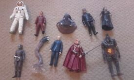 10 Dr Who figures