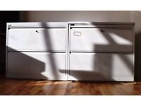 2 x 2-Drawer Lateral Files-₤250/pair new-Both for ₤99 ono-Picku Only