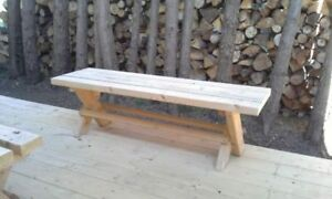 PATIO BENCHES FOR SALE