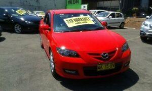 2006 Mazda 3 BK1032 SP23 Red 5 Speed Automatic Sedan Lidcombe Auburn Area Preview