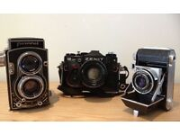 Old Cameras & Photography/ film Equipment