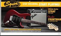 Squier - Affinity Stratocaster Pack - Candy Apple Red