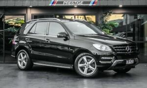 2012 Mercedes-Benz ML250 CDI BlueTEC 166 4x4 Black 7 Speed Automatic Wagon Bowen Hills Brisbane North East Preview