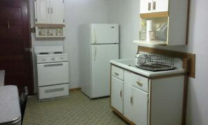 bright and clean  furnished one bedroom studio apartment.
