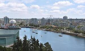 Yaletown Vancouver Furnished 2 Bedroom with Parking