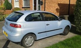 seat ibiza breaking red or blue