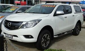 2017 Mazda BT-50 MY17 Update GT (4x4) White 6 Speed Automatic Dual Cab Utility Ulladulla Shoalhaven Area Preview