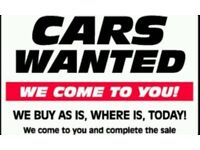 All Scrap cars and vans wanted 4x4s