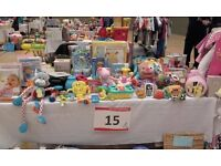 Lots of nearly-new items for 0-9 years